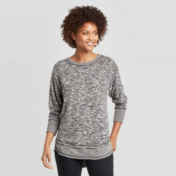 Knox Rose Sweaters - Knox Rose Black Pullover Sweater
